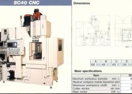 MITSUBISHI SC40 CNC