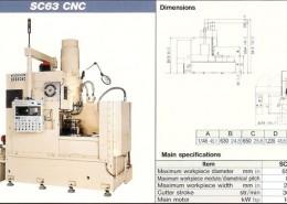MITSUBISHI SC63 CNC