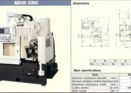 MITSUBISHI SD15 CNC
