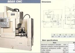 MITSUBISHI SD25 CNC